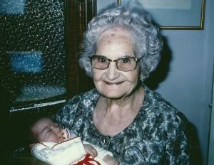 bisabuela con lucia