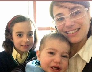 maricarmen y sus hijos