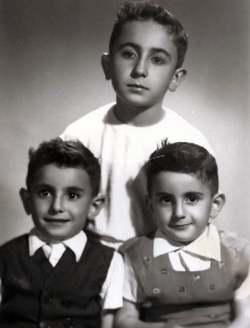 TRES HNOS ESTUDIO 21 JUN 55